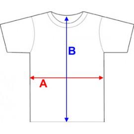 Póló szíves tacskó grafikával