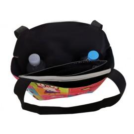 Fekete-cser tacsis vászon táska