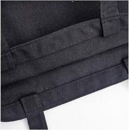 Picasso tacsi grafikás fekete vászon táska