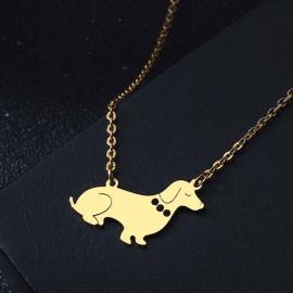 Elegáns tacsi nyaklánc arany vagy ezüst színben